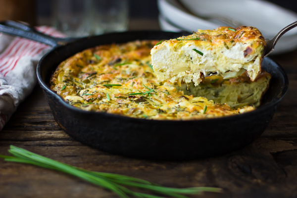 green-garlic-potato-crustless-skillet-quiche-131